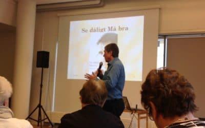 Film från föredrag med Krister hos SRF Dalarna 22/10