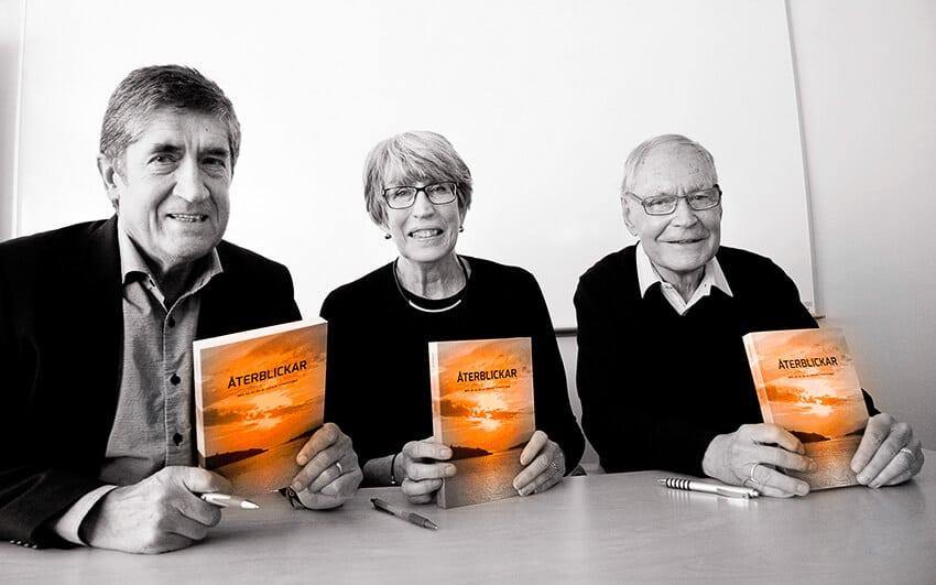 Bokrelease av Återblickar – Mer än 40 år av svensk synhistoria