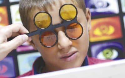 En ny lärobok Inom rehabilitering för syn