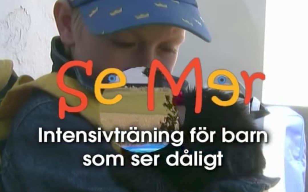 Se mer – En film om barn som syntränar
