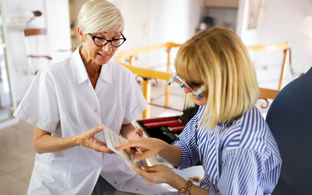 Artikel – PM om vikten av ögonrörelseträning för personer med VFD
